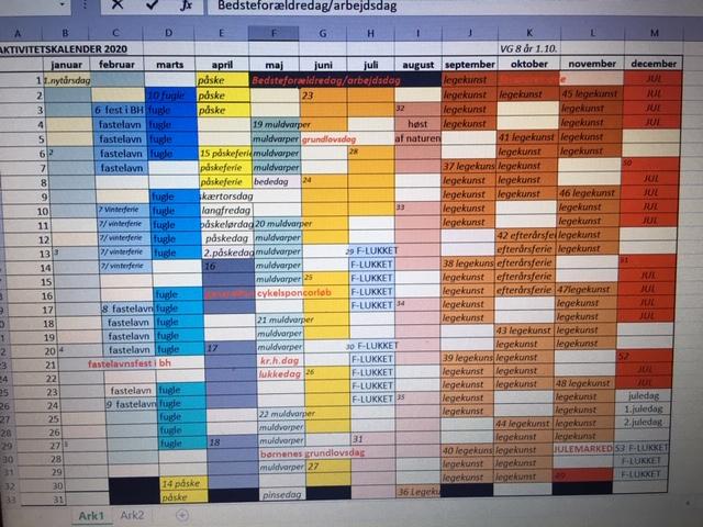 aktivitetskalender 2020